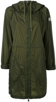 Moncler oversized zipped coat - women - Polyamide - 0