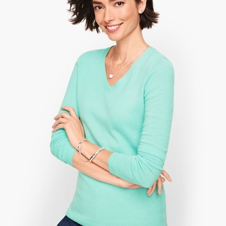 Talbots Cashmere V-Neck Sweater