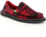 Sanuk Pick Pocket Plaid Slip-On Shoes