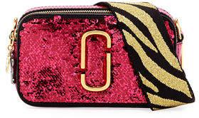 Marc Jacobs Sequin Snapshot Crossbody Bag