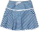 Flap Happy Striped UPF 50+ Swim Skirt