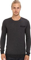 Diesel Men's K-Ane Sweater Charcoal/Grey Sweater