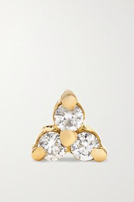 Maria Tash Tiny 18-karat White Gold Diamond Earring - one size