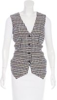 Chanel Wool Tweed Vest