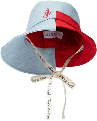 J.W.Anderson Colorblocked bucket hat