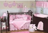 JoJo Designs Sweet Chenille Pink 9 Piece Crib Bedding Set