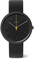 Braun BN017 Ceramic and Leather Watch