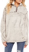 Royce Quarter Zip Cozy-Fleece Poodle Pullover
