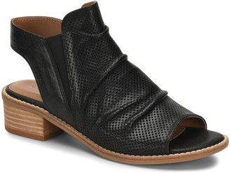 Comfortiva Perforated Slingback Leather Sandals- Belen