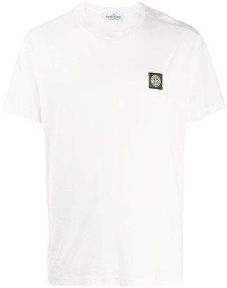 Stone Island short sleeve logo patch T-shirt