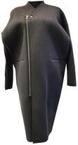 Rick Owens Lilies Grey Coat for Women