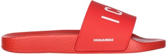 DSQUARED2 Icon Printed Slides