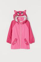 H&M Hooded Rain Jacket - Pink