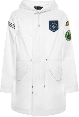 Mr & Mrs Italy Parka Midi With Patches For Woman