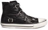 Ash 'Virgin' buckle leather sneakers