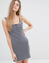 Jack Wills Striped Jersey Tank Dress
