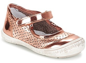 Citrouille et Compagnie GUITAGO girls's Shoes (Pumps / Ballerinas) in Gold