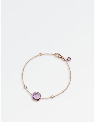 Rosegold BUCHERER JEWELLERY Colour Drops 18ct rose-gold diamond bracelet