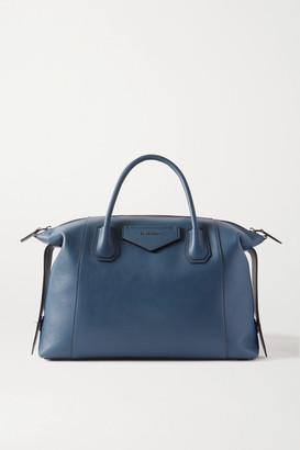 Givenchy Antigona Soft Medium Leather Tote - Navy