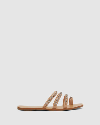 Ravella - Women's Nude Sandals - Catalina - Size One Size, 36 at The Iconic