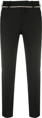 Pt01 Contrast Trim Trousers