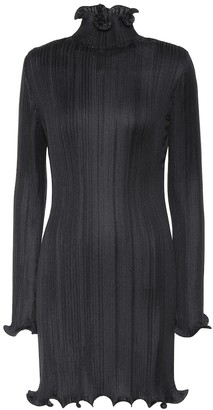 Givenchy Plisse minidress