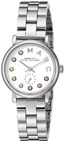 Marc by Marc Jacobs Women's MBM3423 Baker Analog Display Analog Quartz Silver-Tone Watch