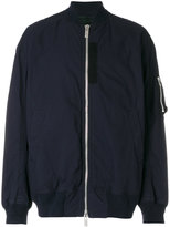 Sacai classic bomber jacket - men - Cotton/Nylon/Polyester/Cupro - 3