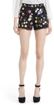Alice + Olivia Women's Embroidered Shorts