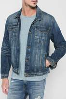 7 For All Mankind Trucker Jacket In Legend