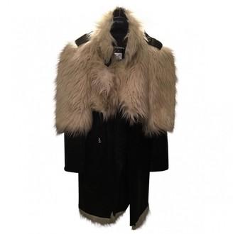 Chanel Black Faux fur Coat for Women