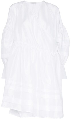Cecilie Bahnsen wrap-around smock dress