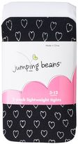 Baby Girl Jumping Beans® 2-pk. Glitter Heart & Solid Tights