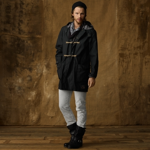 Denim & Supply Ralph Lauren Waxed Canvas Duffel Coat