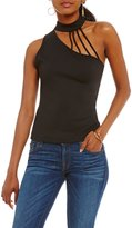 GUESS Mick One-Shoulder Strappy Top
