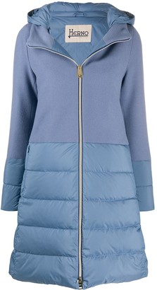 Herno Dual Texture Padded Coat