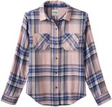 Mudd Girls 7-16 & Plus Size Side-Split Flannel Button-Down Shirt