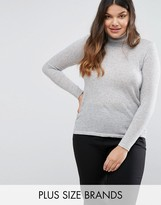Junarose Roll Neck Knitted Sweater