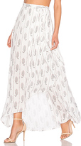 The Jetset Diaries Hayworth Maxi Skirt in White. - size XS (also in )