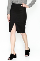 Alythea Black Pencil Skirt
