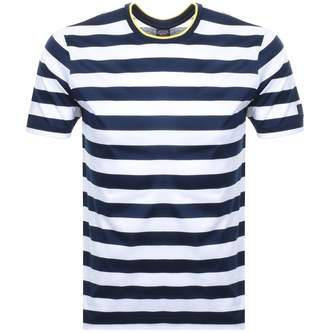 Paul & Shark Paul And Shark Short Sleeved Stripe T Shirt Navy