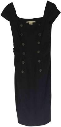 Diane von Furstenberg Navy Wool Dress for Women
