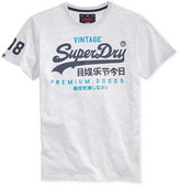 Superdry Men's Premium Goods Duo Graphic-Print Logo T-Shirt