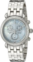 Sartego Women's SDBP389S Diamond Fashion Round Shape Chronograph