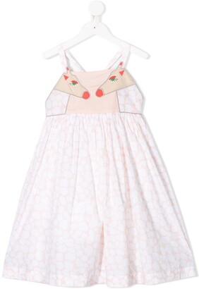 Stella McCartney Kids Giraffe Spots short dress