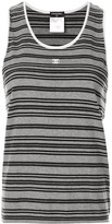 Chanel Pre Owned striped tank top