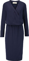 By Malene Birger Raya silk-trimmed crepe dress