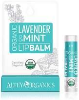 Lavender Mint Lip Balm by Alteya Organics (0.17oz Lip Balm)