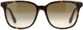 Gucci Gg0376s Havana Sunglasses