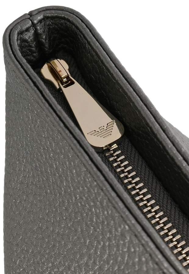 Armani Jeans Metallic Shopper Bag
